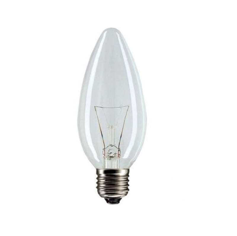 Лампа накаливания Stan 40Вт E27 230В B35 CL 1CT/10X10 Philips 921492044218 / 871150005669650