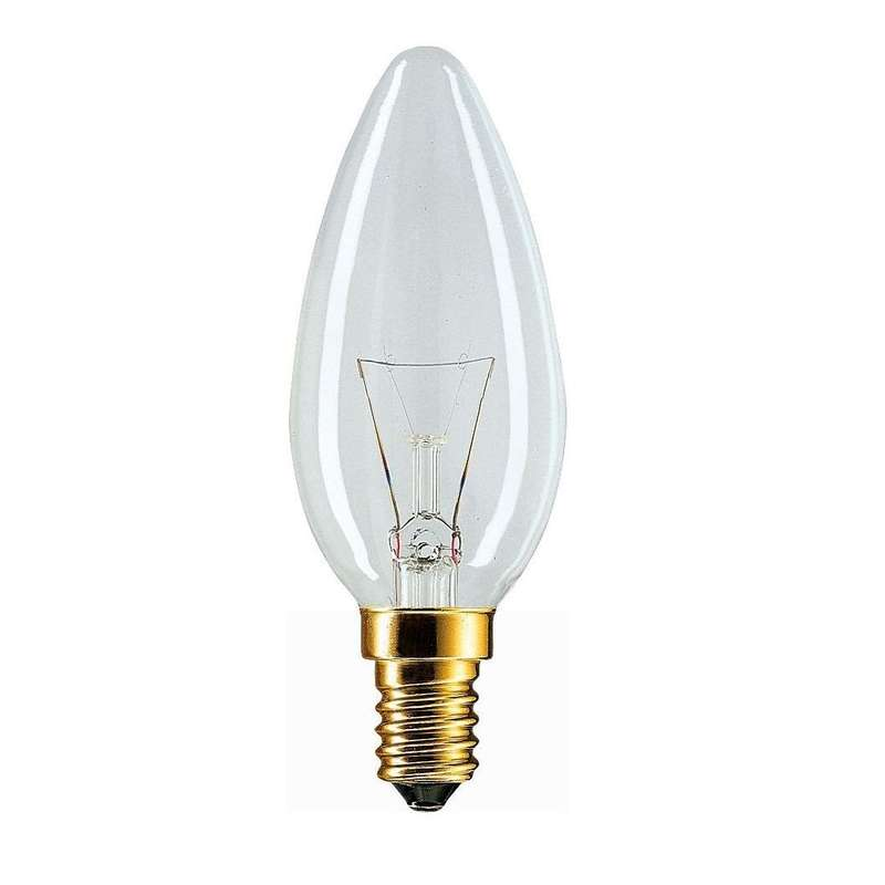 Лампа накаливания Stan 60Вт E14 230В B35 CL 1CT/10X10 Philips 926000003017 / 871150001167150